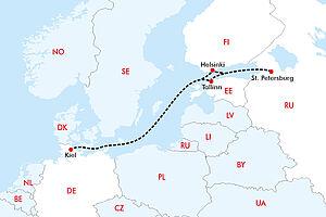 Metropolen der Ostsee mit AIDAnova