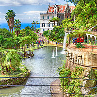 Madeira Monte Palace Tropical Gardens in Funchal