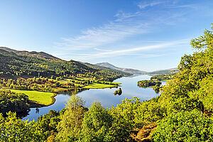 Highlands mit Standorthotel