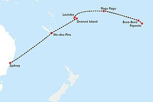 Inseln der Südsee und Down Under  erkunden mit der Norwegian Spirit