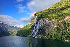 Wunderbare Fjordwelt in Norwegen