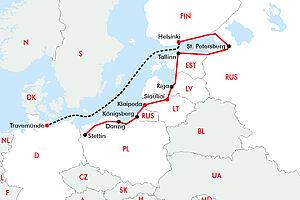 Baltikum mit Finnlines