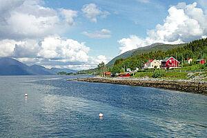 Glücksmomente in den Fjorden Norwegens