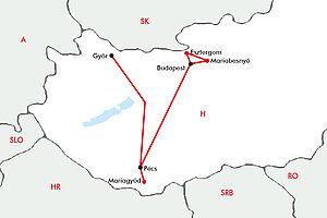 Pilgerreise nach Ungarn