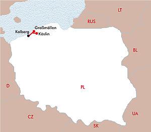 Verwöhntage in Kolberg