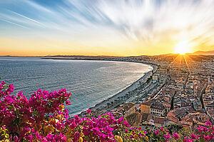 Frühling an der Côte d'Azur