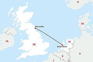 Minikreuzfahrt nach Newcastle