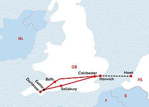 Britischer Küstencharme