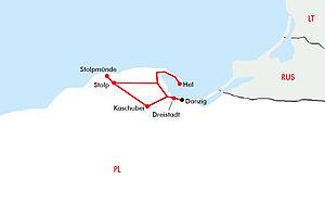 Danzig - Kaschubei & Ostsee