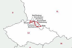 Riesengebirge - Per Zug auf Entdeckungsreise