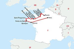 Normandie & Bretagne im Duett