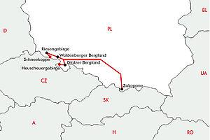 Gipfel & Wipfel - Gebirge in Südpolen