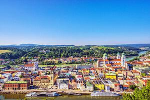 Drei Flüsse für Passau