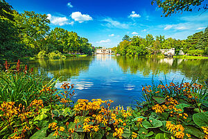 Traumhafte Gärten & idyllische Parks