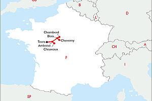 Internationales Gartenfestival im Loire-Tal