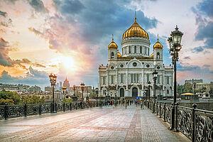 St. Petersburg - Moskau : mit 250 km/h im Sapsan