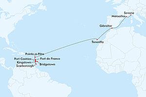 Tropische Karibik & atlantischer Frühling