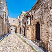 Rhodos Street of Knights
