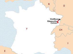 Straßburg und Colmar auf dem Wasser entdecken
