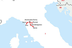 Malerische Toskana