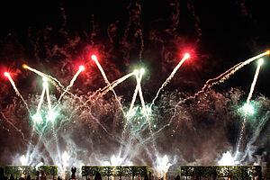 Internationaler Feuerwerkswettbewerb in Hannover