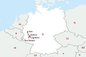 Erlebnis Mittelrheintal und Loreley  mit der MS RHEIN SYMPHONIE