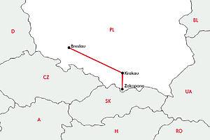 Faszination Hohe Tatra mit Krakau & Breslau