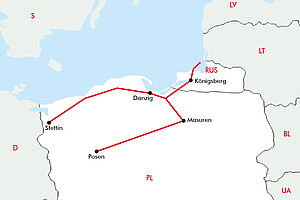 Danzig - Königsberg & Masuren