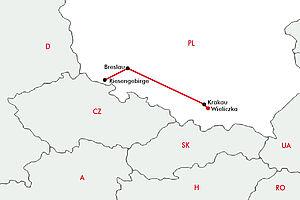 Breslau - Krakau - Riesengebirge