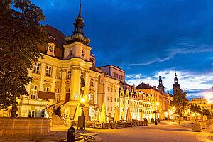 Silvester in Schlesien: in Liegnitz