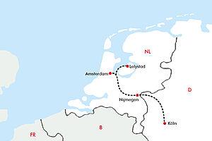 Entdeckungen am Rhein und Besuch der FLORIADE  mit der MS Rhein SYMPHONIE