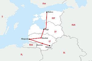 Die Baltischen Hauptstädte