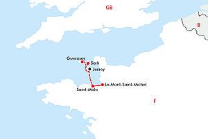 Jersey & Guernsey - Britisch-Französisches Flair