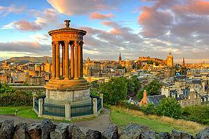 Edinburgh, Stadt der sieben Hügel