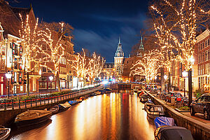 Adventsshopping in Amsterdam mit der MS Asara