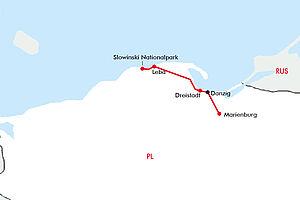 Danzig: Ostseeküste, Bernsteinzauber & Ritterromantik