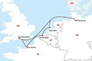 Westeuropäische Metropolen erkunden mit der MSC Magnifica
