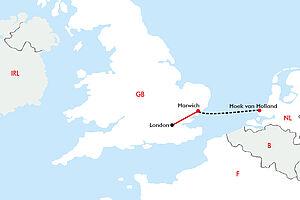 Minikreuzfahrt nach London