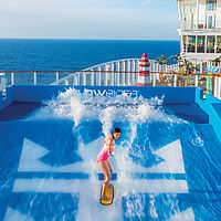 Symphony of the Seas Flowrider