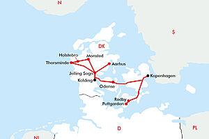 Dänemark - Land zwischen den Meeren