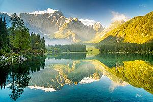 Grünes Slowenien