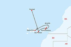 Inselwelt der Kanaren mit AIDAcosma