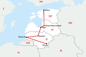 Flugreise Baltikum De Luxe