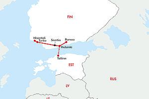 Finnlands malerische Südküste