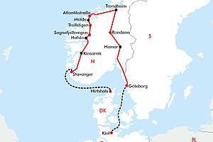 Norwegens traumhafte Panoramastraßen