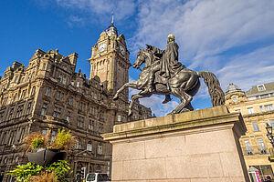Faszinierende Gegensätze Edinburgh & Glasgow
