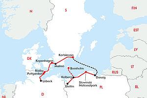 Polen - Dänemark & Schweden