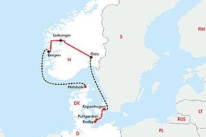 Norwegen zum Schnuppern