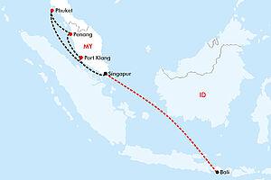 Asiatische Metropolen & Inseltraum Bali