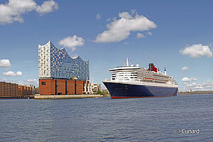 Königliches Kreuzfahrterlebnis ab Hamburg mit der Queen Mary 2